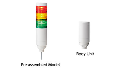60mm LED Signal Tower with M12 Connector